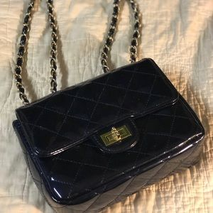 Chanel Dreams quilted bag, midnight blue